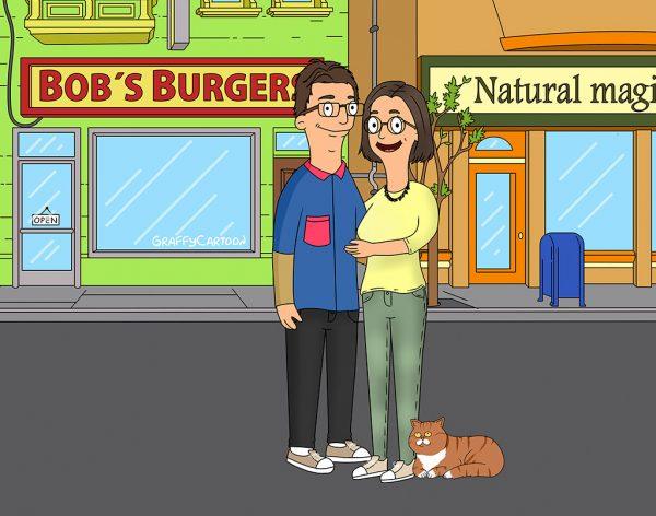 Bobs burgers portrait