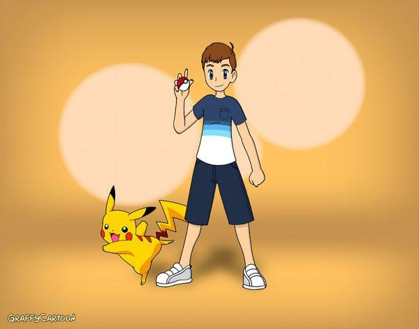 Pokemon portrait
